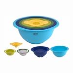 Посуда Gipfel Набор глубоких силиконовых мисок 5 шт арт.9902