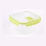 FISSMAN Квадратный герметичный контейнер для хранения продуктов 2,0 л (пластик) арт.6763